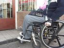 Disabled man, wheelchair