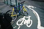 bicycle lane and markings