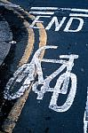bicycle lane markings