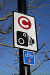 Congestion Charge sign, London