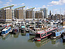 Limehouse marina, eaast London