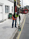 Local authority street cleaner