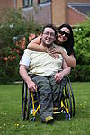 Life is sweet: Disabled man with able-bodied partner