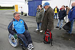 Disabled football fan joins supporters for away trip