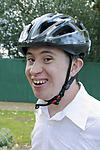 Independent living: Man with Down's Syndrome ready for cycle journey to work