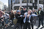 Police and demonstrators clashing ahead of G20 summit