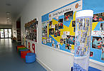 Corridor in primary school
