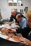 Art class for elderly