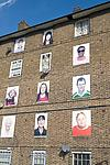 Artwork on inner city housing estate