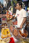 Festival of ethnic cooking, east London