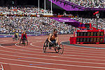Wheelchair athletics, Paralympics 2012