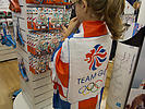 Merchandise on sale for Olympics 2012