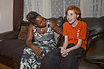 Foster mother and looked-after teenager