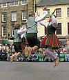 Children folk dance group