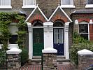 Victorian terrace housing, London